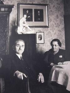 Max Raphael und Getrud Hahn Merkelstr. 3 1938