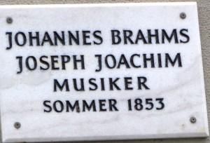 GÖ Gedenktafeln_Brahms