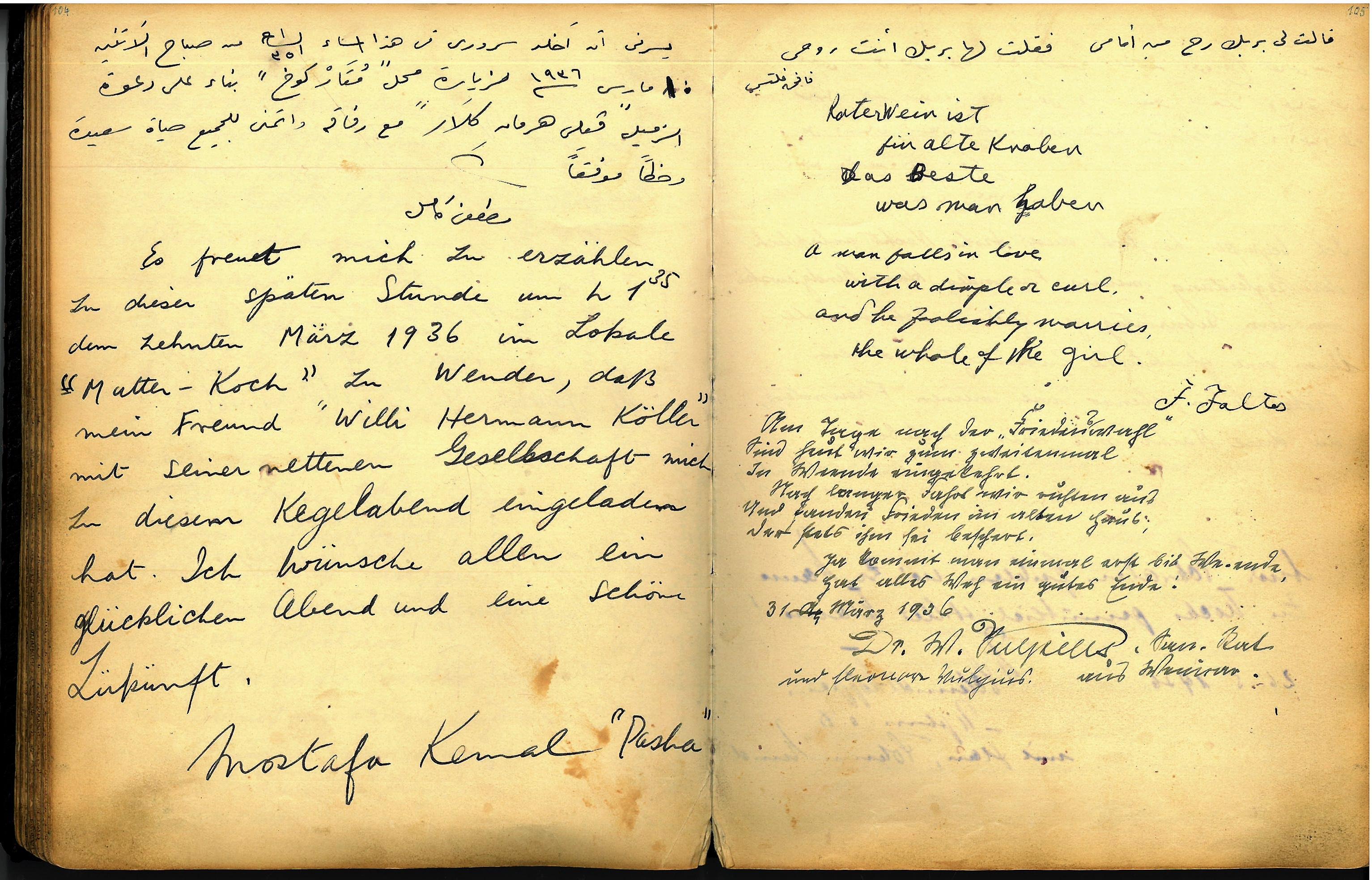 Atatürk in Weende!?