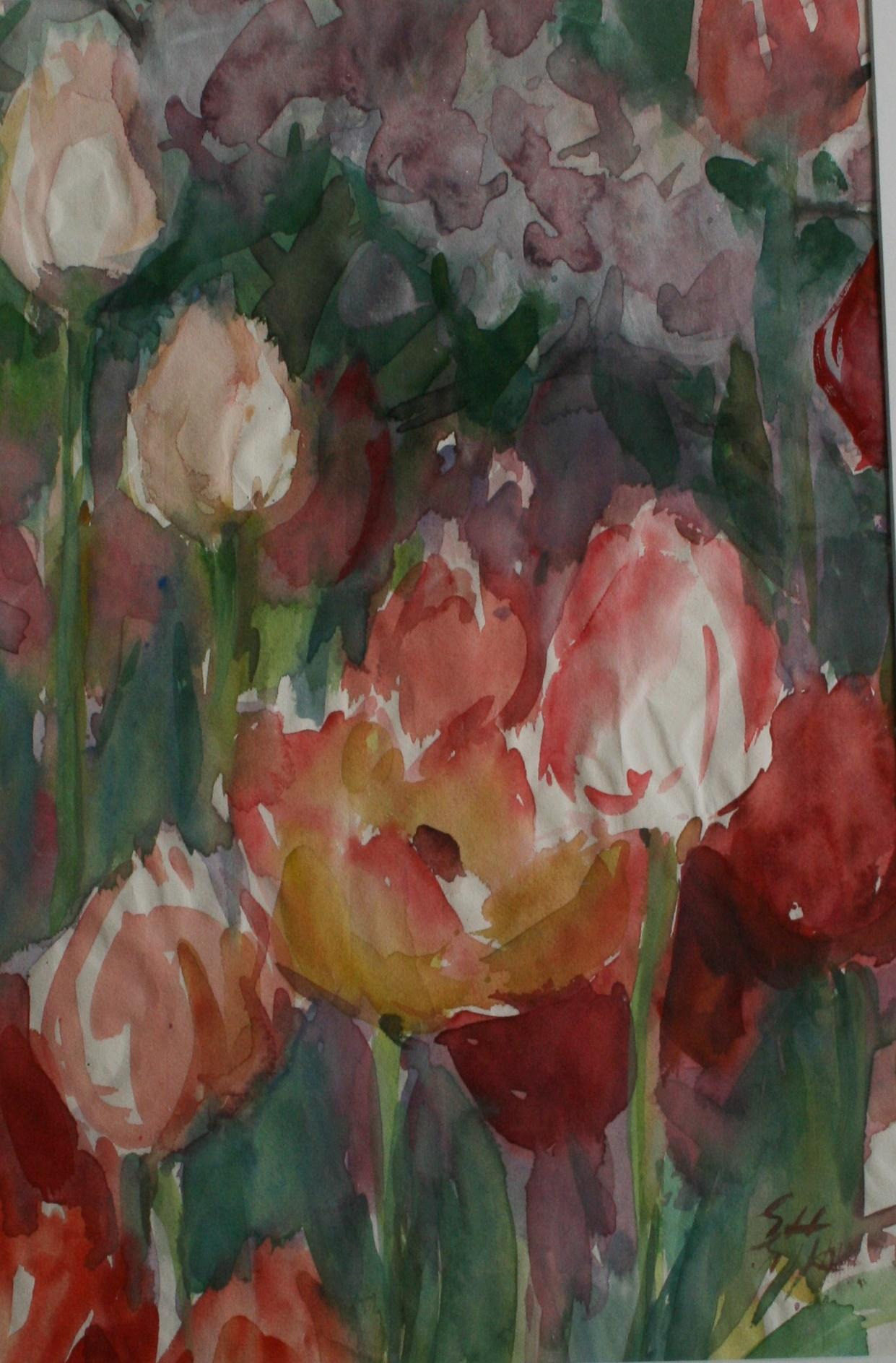 Nicht nur Blumen und Schmetterlinge…  Neue Werke von Elsa Hoppe in der grafischen Sammlung