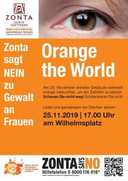 Aktionstag gegen Gewalt an Frauen und Mädchen