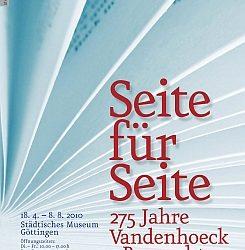 Seite für Seite: 275 Jahre Vandenhoeck & Ruprecht