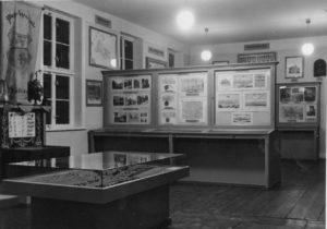 Die neue geschichtliche Abteilung des Städtischen Museums, Foto um 1937