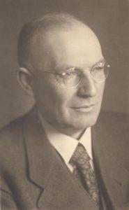 Museumsleiter Otto Fahlbusch (1888-1971), Foto um 1950