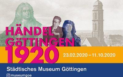 Händel Göttingen 1920 – Die digitale Ausstellung