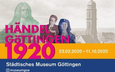 Eröffnungder AusstellungHÄNDEL_GÖTTINGEN_1920