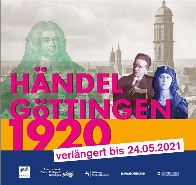 Händel_Göttingen_1920  Ausstellung verlängert bis zum 24.05.2021