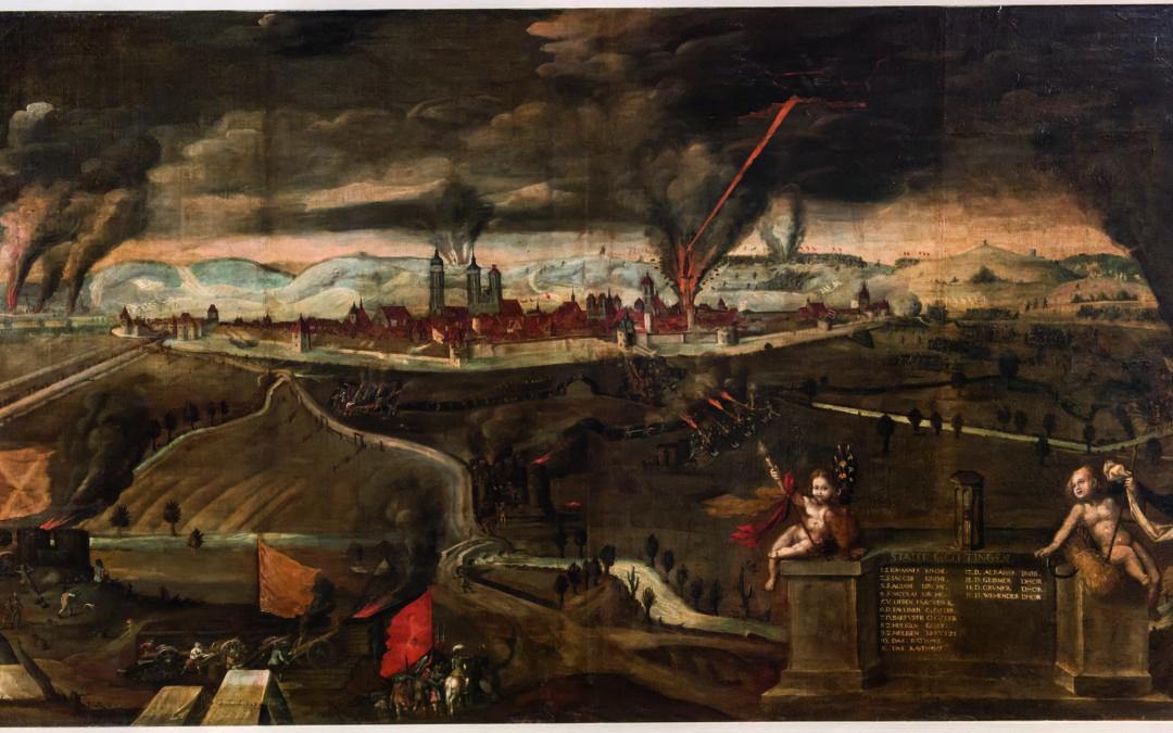 Gemälde mit Geschichte